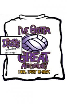 Great Attitude Volleyball T-shirt