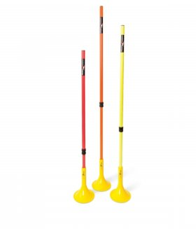 Telescopic Boundary Poles