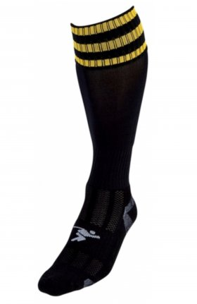 Three Stripe Pro Sock blk/gld