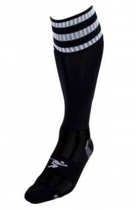 Three Stripe Pro Sock blk/wht