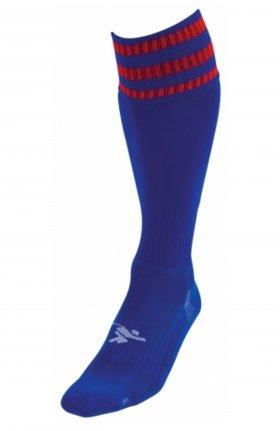 Three Stripe Pro Sock ryl/rd