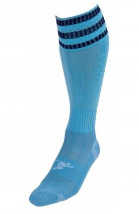 Three Stripe Pro Sock sky/nvy