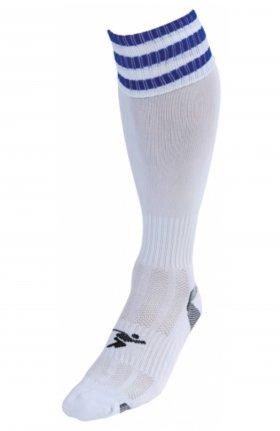 Three Stripe Pro Sock wht/ryl