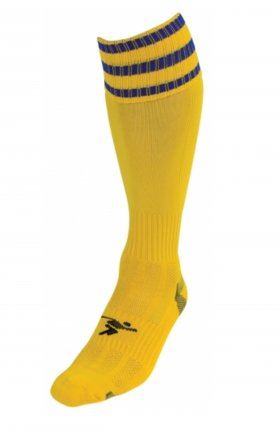 Three Stripe Pro Sock ylw/ryl
