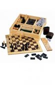 6 in 1 Games Chess Set