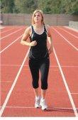 Precision Running Ladies Vest B/W