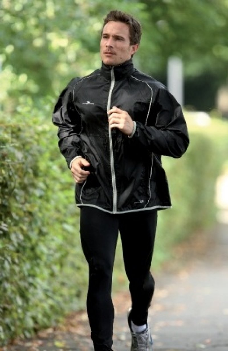 Men's Running Rain Jacket BK | Prosport International